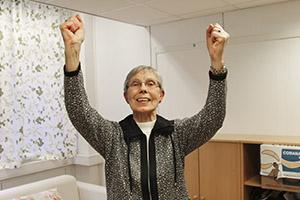 HEALTHY: Sonja Berg Andersen (76) from Ulset was healed of ...